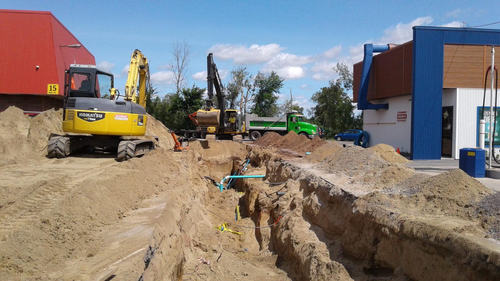 Excavation de tous genres